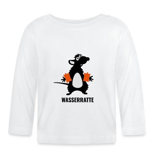 Wasserratte - Baby Langarmshirt
