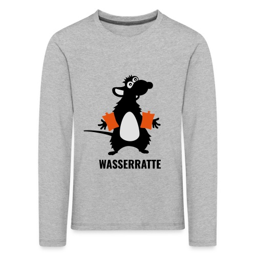Wasserratte - Kinder Premium Langarmshirt