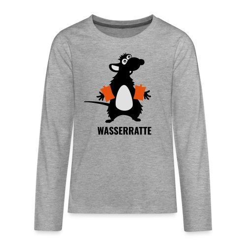 Wasserratte - Teenager Premium Langarmshirt