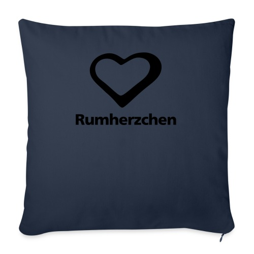 Rumherzchen - Sofakissenbezug 44 x 44 cm
