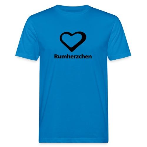 Rumherzchen - Männer Bio-T-Shirt