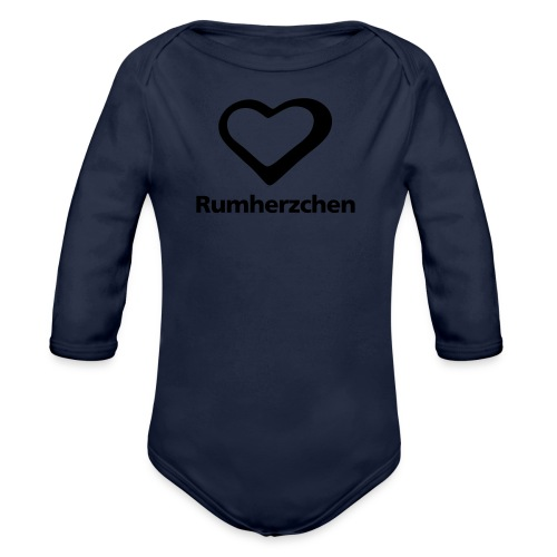 Rumherzchen - Baby Bio-Langarm-Body