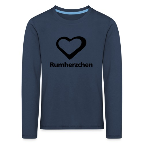 Rumherzchen - Kinder Premium Langarmshirt