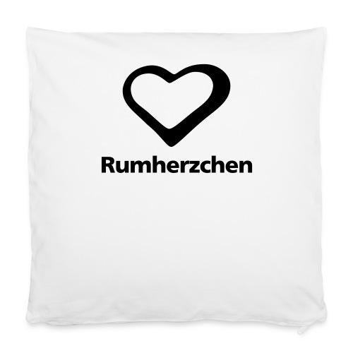 Rumherzchen - Kissenbezug 40 x 40 cm