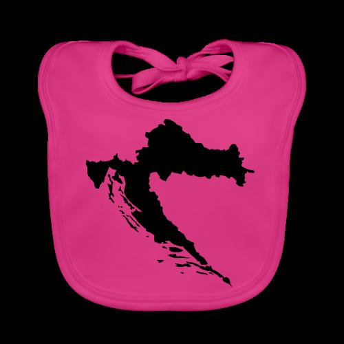 Kroatien Shirt - Baby Bio-Lätzchen