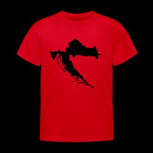 Kroatien Shirt - Kinder T-Shirt