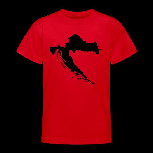 Kroatien Shirt - Teenager T-Shirt