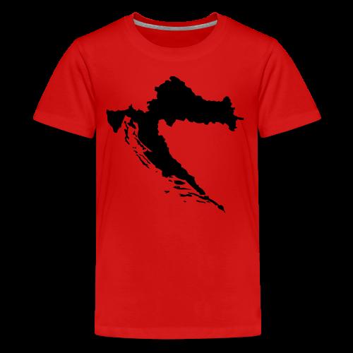 Kroatien Shirt - Teenager Premium T-Shirt