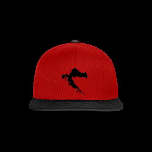 Kroatien Shirt - Snapback Cap