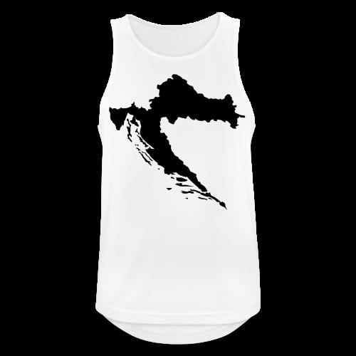 Kroatien Shirt - Männer Tank Top atmungsaktiv