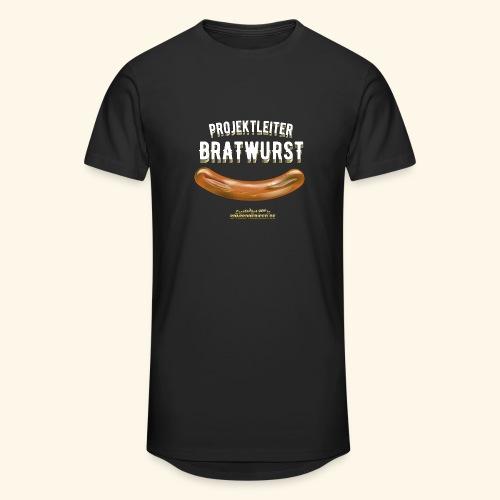 Geschenkidee: lustiges Grillshirt Projektleiter Bratwurst - Männer Urban Longshirt
