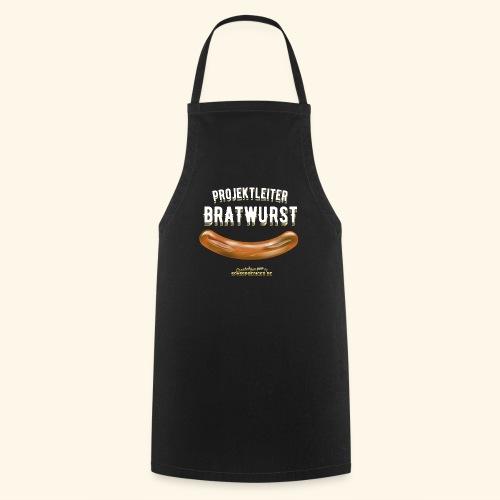 Geschenkidee: lustiges Grillshirt Projektleiter Bratwurst - Kochschürze