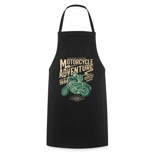 Aventura en moto - Delantal de cocina