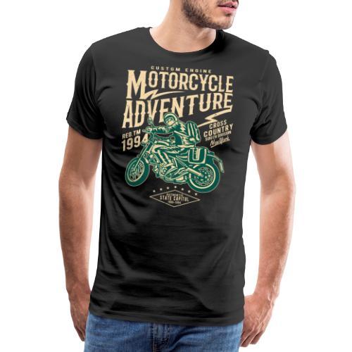 Aventura en moto - Camiseta premium hombre