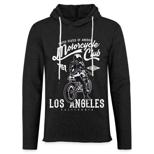 Motorcycle Club Los Angeles California - Sudadera ligera unisex con capucha