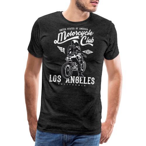 Motorcycle Club Los Angeles California - Camiseta premium hombre