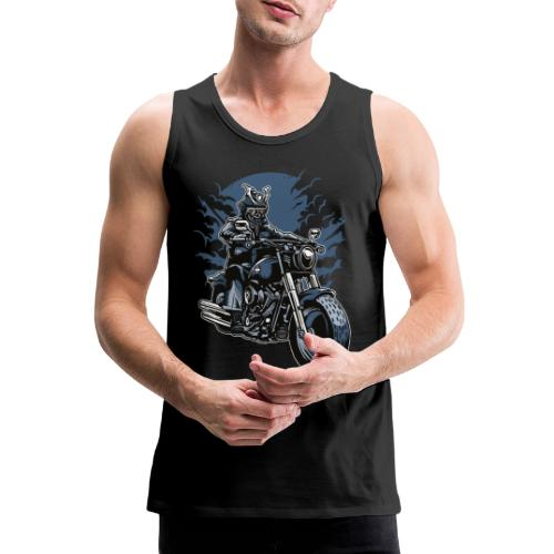 Motero Samurai - Tank top premium hombre