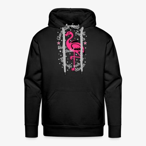 Flamingo Glanzvoller Start Zukunft Schulkind T-Shirt 18 - Männer Premium Hoodie