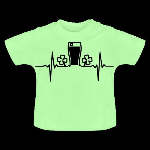Heartbeat Herzschlag Pint Stout Irland
