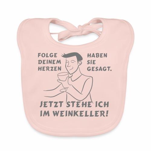 Weinkeller - Baby Bio-Lätzchen