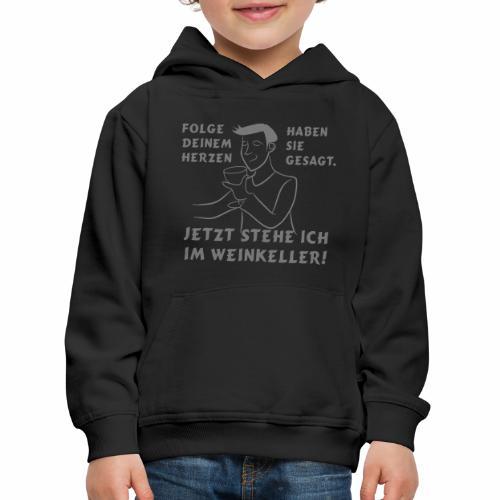 Weinkeller - Kinder Premium Hoodie