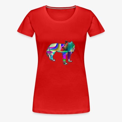 Le loup - T-shirt Premium Femme