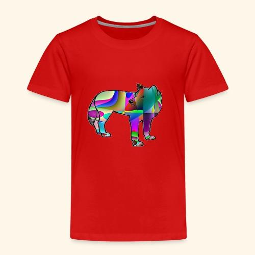 Le loup - T-shirt Premium Enfant
