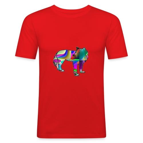Le loup - T-shirt près du corps Homme
