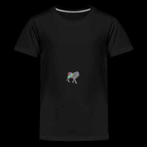 Le lion - Teenager Premium T-Shirt
