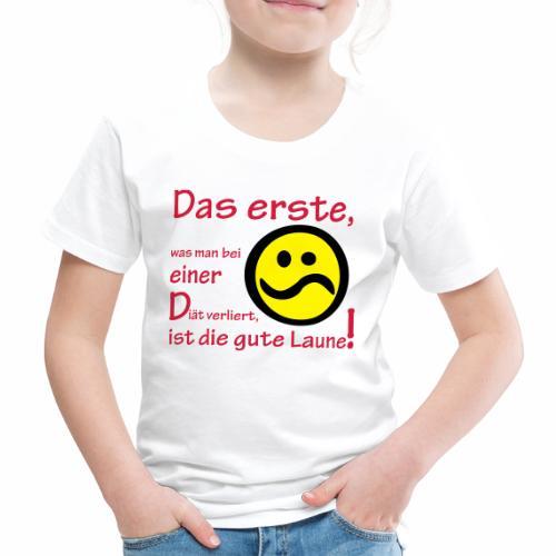 Diät verdirbt die Laune - Kinder Premium T-Shirt