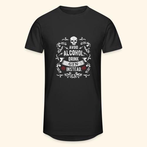 Drink gin instead - Männer Urban Longshirt