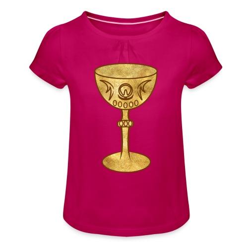 T-shirt GRAAL - T-shirt à fronces au col Fille