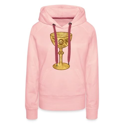 T-shirt GRAAL - Sweat-shirt à capuche Premium pour femmes