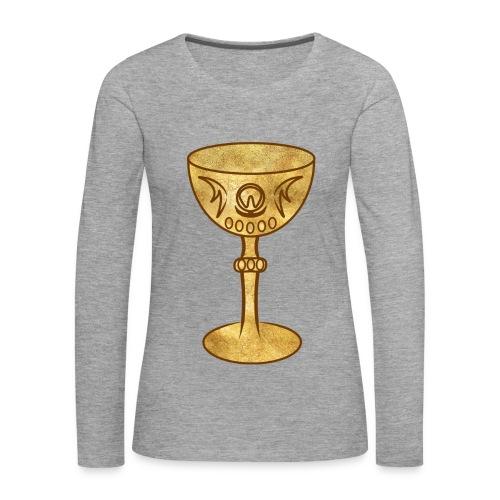 T-shirt GRAAL - T-shirt manches longues Premium Femme
