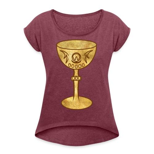T-shirt GRAAL - T-shirt à manches retroussées Femme