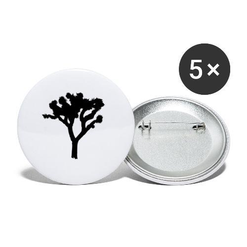 Joshua Tree - Buttons mittel 32 mm (5er Pack)