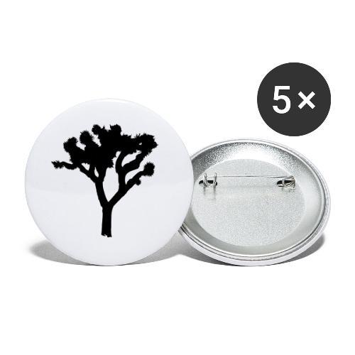 Joshua Tree - Buttons klein 25 mm (5er Pack)