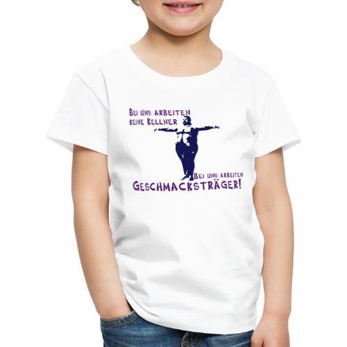 Kellner mit Bauch - Kinder Premium T-Shirt