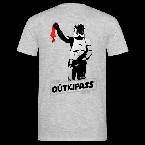 OutKipass Gris Chiné - T-shirt Homme