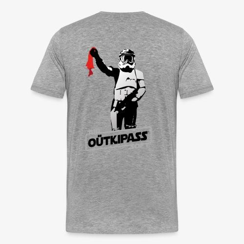 OutKipass Gris Chiné - T-shirt Premium Homme