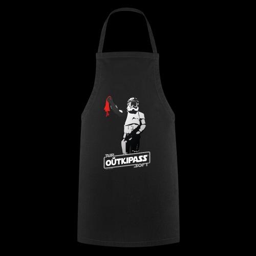 OutKipass Noir - Tablier de cuisine