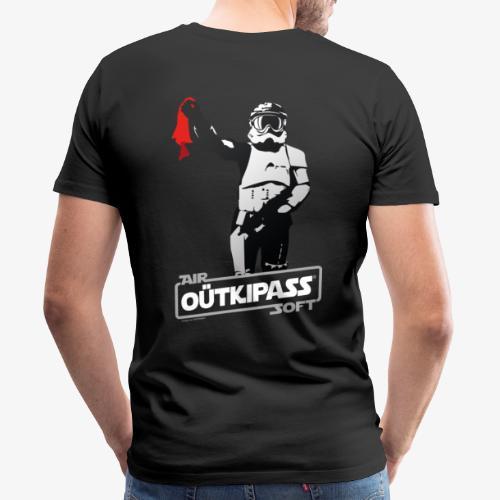 OutKipass Noir - T-shirt Premium Homme