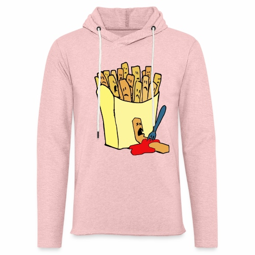 Pommestüte - Leichtes Kapuzensweatshirt Unisex