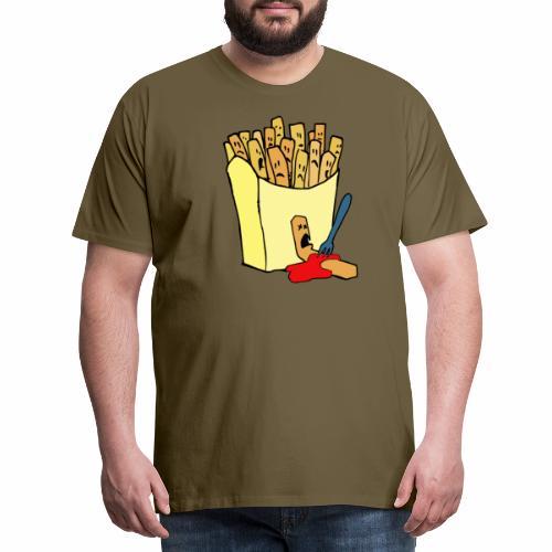 Pommestüte - Männer Premium T-Shirt