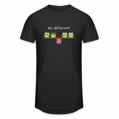 Be different - Männer Urban Longshirt