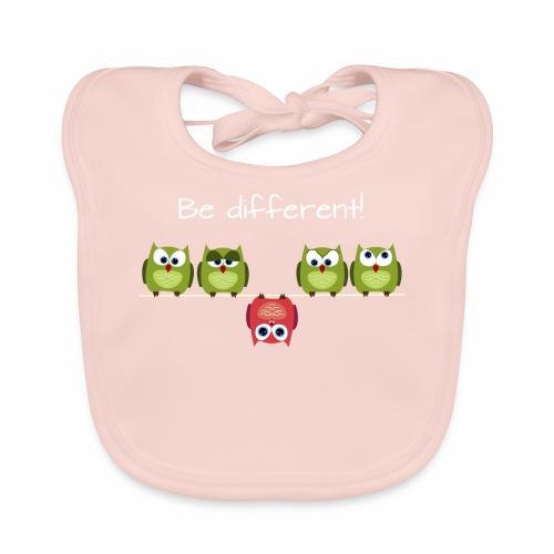 Be different - Baby Bio-Lätzchen