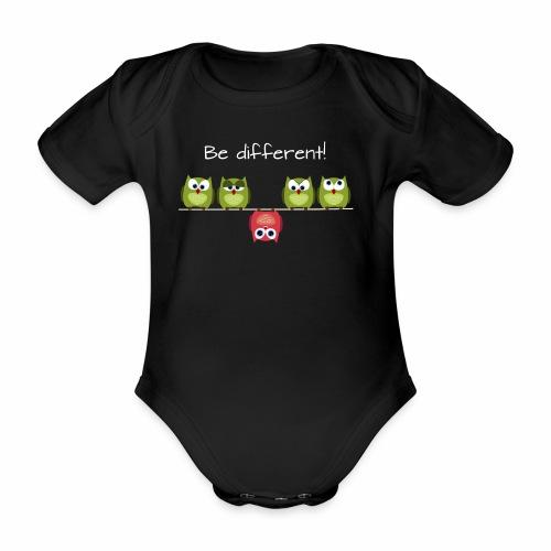 Be different - Baby Bio-Kurzarm-Body