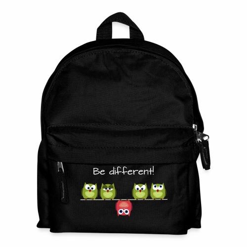 Be different - Kinder Rucksack