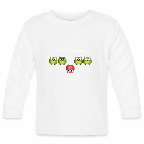 Be different - Baby Langarmshirt