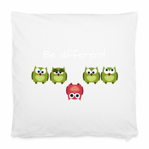 Be different - Kissenbezug 40 x 40 cm
